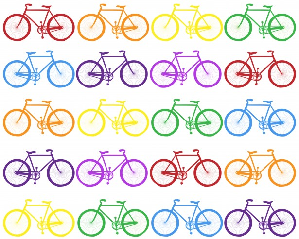 colorful-bicycle-background